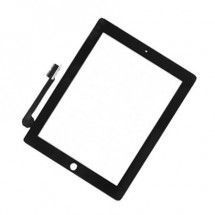 Tactil sin boton color negro iPad 3 / 4