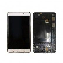Pantalla LCD mas tactil con marco color blanco para Samsung Galaxy Tab 4 T230