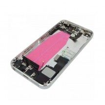 Chasis trasero completo con componentes color gris iPhone 5S