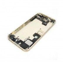 Chasis trasero completo con componentes color dorado iPhone 5S