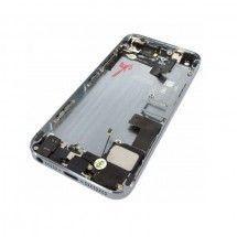 Chasis trasero completo con componentes color negro iPhone 5S