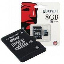 Tarjeta MicroSD 8GB Kingston