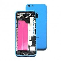 Chasis con componentes color azul iPhone 5C