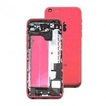 Chasis con componentes color rosa iPhone 5C