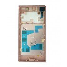 Carcasa trasera color rosa con lente para Sony Xperia XZ