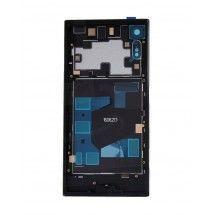 Carcasa trasera color bnegro con lente para Sony Xperia XZ