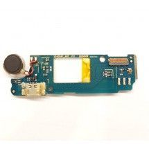 Placa inferior conector carga y vibrador para Wiko Rainbow Up (Swap)