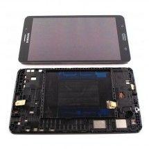 Pantalla LCD mas tactil con marco color negro para Samsung Galaxy Tab 4 T230