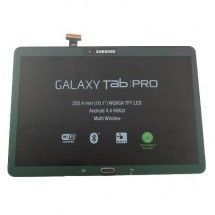 """Pantalla LCD mas tactil con marco color negro para Samsung Galaxy Tab Pro 10.1"""" T520 T525"""