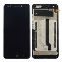 Pantalla LCD y tactil negro CON Marco ZTE Blade A570