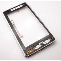 Pantalla tactil con marco color negro para Huawei MediaPad Ideos S7-101