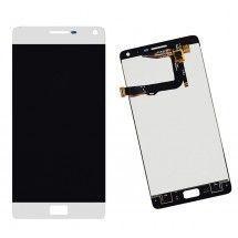 Pantalla LCD y tactil color blanco para Lenovo Vibe P1