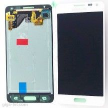 Pantalla LCD y tactil Samsung Galaxy Alpha G850F color blanco