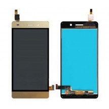 Pantalla LCD mas tactil color dorado para Huawei G Play Mini G650