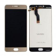 Pantalla LCD Más Táctil Color Dorado Para Meizu M3 Note L681H