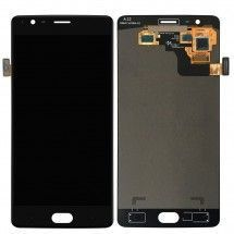 Pantalla LCD y tactil color negro para One Plus 3T