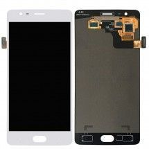 Pantalla LCD y tactil color blanco para One Plus 3T