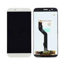 Pantalla completa LCD y tácil color blanco para Huawei Ascend G8
