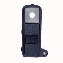 Embellecedor y lente camara trasera color negro para LG K8 K350N (swap)