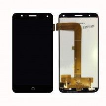 Pantalla LCD y tactil color negro para Alcatel Pop 4 OT5051