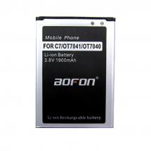 Batería para Alcatel OT7040  OT7041  C7 1900mAh BOFON