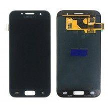 Pantalla LCD mas tactil color negro para Samsung Galaxy A3 2017 (A320F)