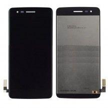 Pantalla LCD y Táctil color Negro para LG K8 2017 X240