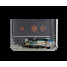 Pantalla LCD y táctil Con marco color Negra para LG G6 H870