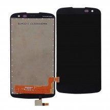 Pantalla LCD y táctil color negro para LG K3 K100