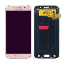 Pantalla LCD mas tactil color rosa para Samsung Galaxy A5 2017 (A520F)