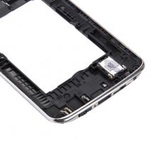 Carcasa trasera con lente color negro LG K7