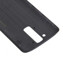 Embellecedor y botones traseros con lente color negro para LG K7