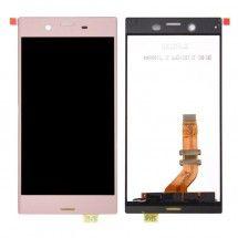 Repuesto de Pantalla completa LCD y tactil color Rosa para Sony Xperia XZ