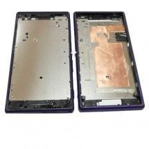 Marco frontal display para Sony Xperia M2 D2303 D2305 D2306