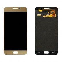 Pantalla LCD y táctil color Dorado para Samsung Galaxy C5