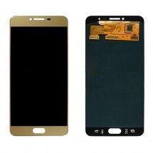 Pantalla LCD y táctil color Dorado para Samsung Galaxy C7