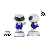 Cámara de vigilancia robot Doraemon WIFI - 1080p HD
