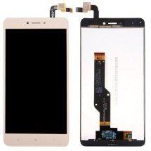Pantalla LCD y Táctil color Dorado para Xiaomi Redmi Note 4X