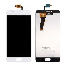 Pantalla LCD y táctil color blanco para Meizu M5s