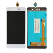 Pantalla LCD mas tactil color blanco para Wiko Fever 4G