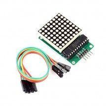 Módulo Matriz LED de 8x8 Max7219 compatible Arduino