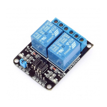 Módulo Rele 2 Canales 10A 250V compatible Arduino