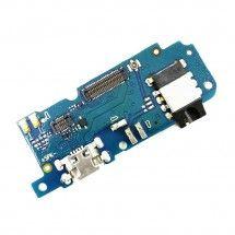Placa inferior conector de carga, micrófono y jack de audio para Meizu M5