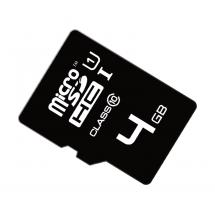 Memoria Micro SD de 4GB clase 10