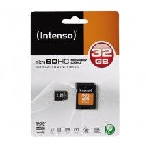 Memoria Intenso Micro SD 32GB clase 4