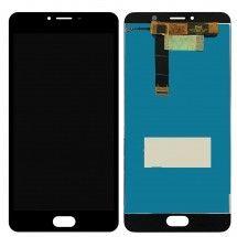 Pantalla LCD y táctil color negro para Meizu U20