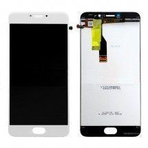 Pantalla LCD Más Táctil Color Blanco Para Meizu M3 Note L681H