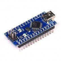 Placa Nano V3.0 ATmega328P controladora CH340 con pines Compatible con Arduino