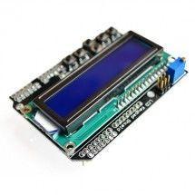Pantalla LCD shield 1602 con teclado para Arduino Uno