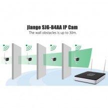 Set 4 cámaras Wireless NVR Grabación digital